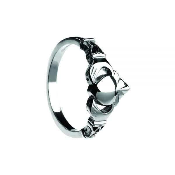 Gents NY Stle Claddagh Ring