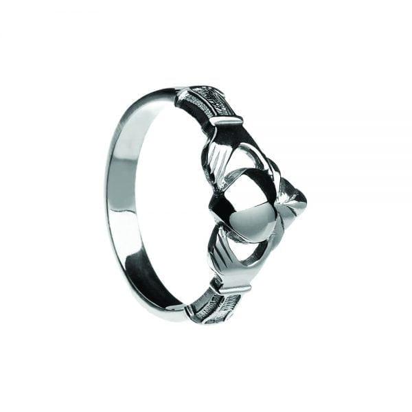 Ladies NY Style Claddagh Ring