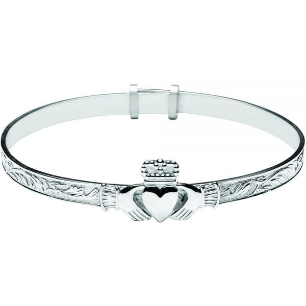 Baby Claddagh Bangle