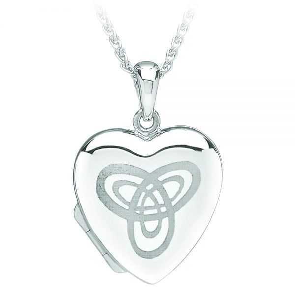 Heart Shaped Trinity Locket