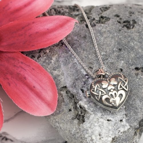 Claddagh & Shamrock Locket