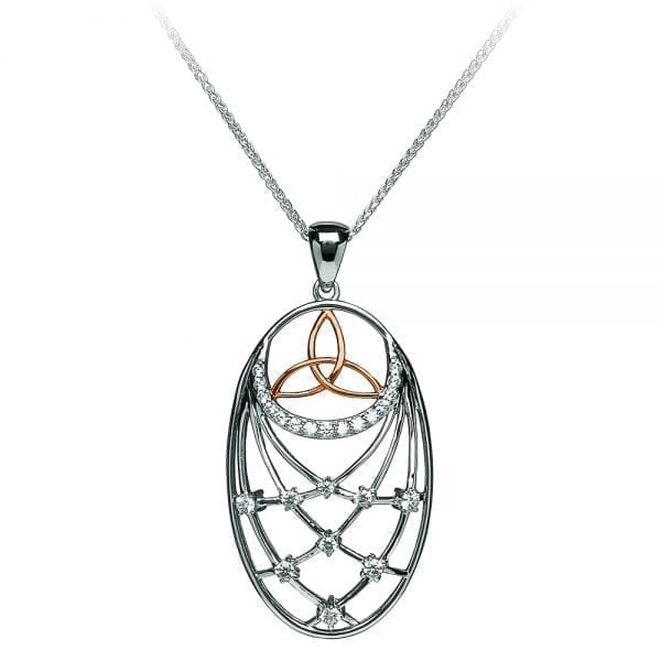 Interlaced Trinity Pendant