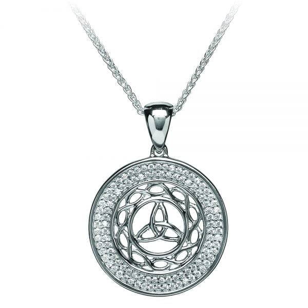 Silver Pendant Celtic Knot Trinity