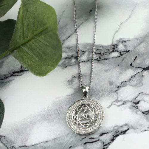 Celtic Knot & Trinity Pendant