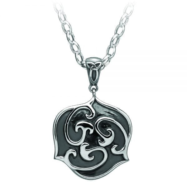 Silver Antiqued Celtic Pendant