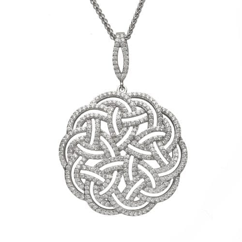 Interlaced Celtic Pattern Pendant