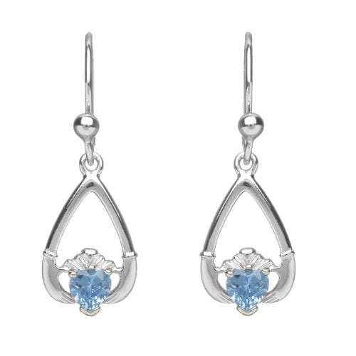March Claddagh Earrings