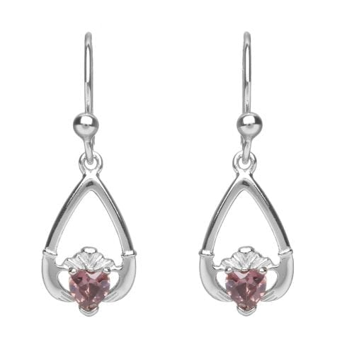 June Claddagh Earrings