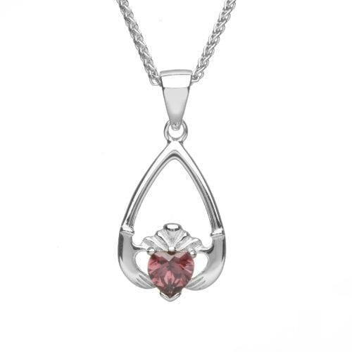 June Claddagh Pendant