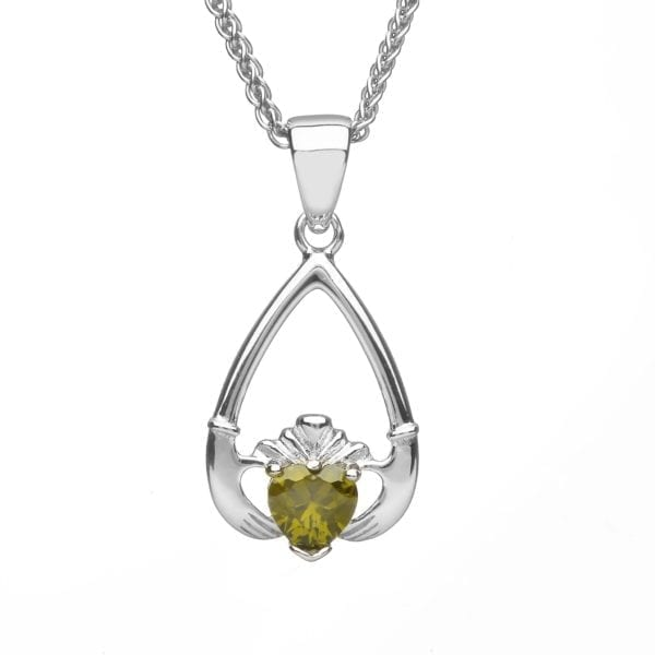 August Claddagh Pendant