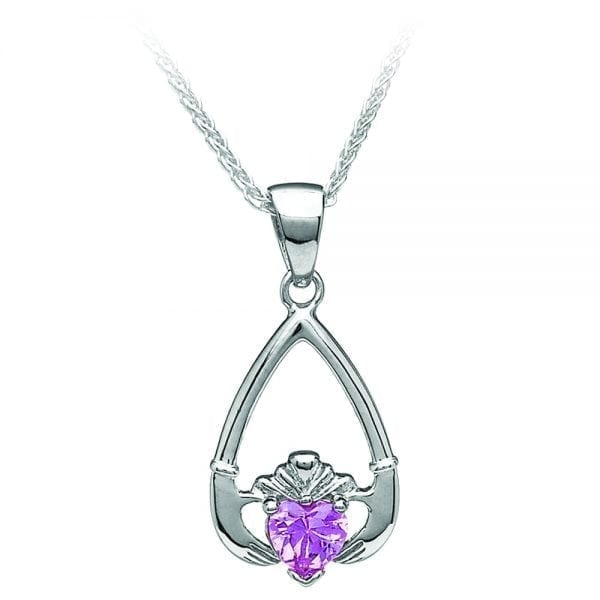 October Claddagh Pendant