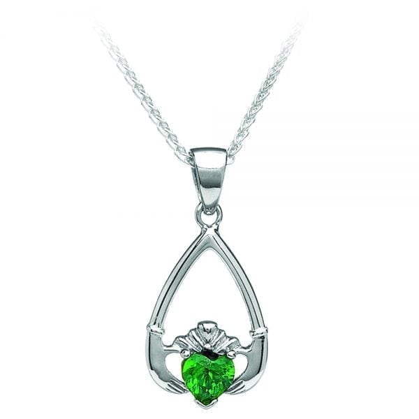 May Claddagh Pendant