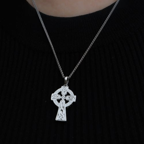 Traditional Celtic Two Sided Cross
