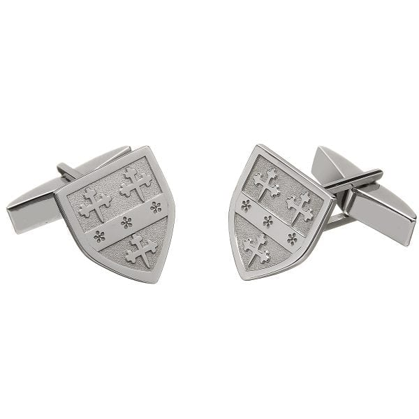 Shield Coat of Arms Cufflinks