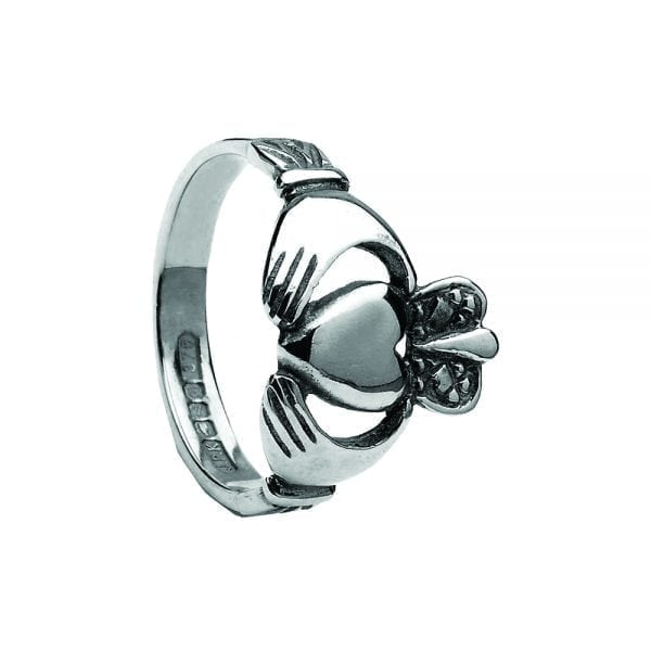 Large Ladies Claddagh Ring