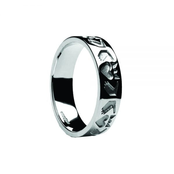 Gents Friendship Claddagh Ring