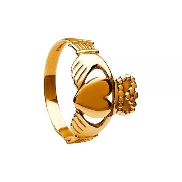 Gents Traditional Claddagh Ring