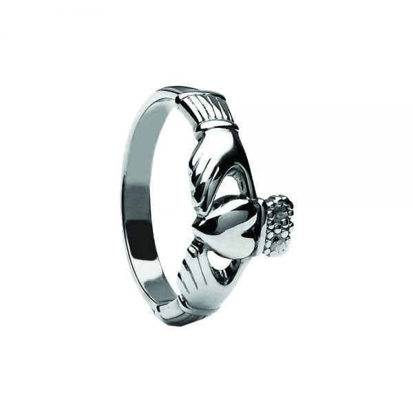 Maids Traditional Style Claddagh Ring