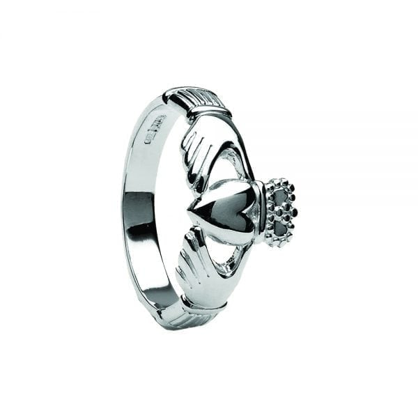 Gents Traditional Style Claddagh Ring