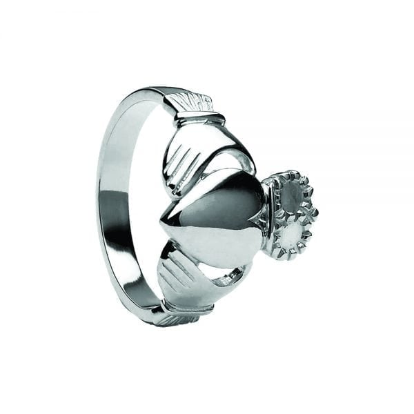 Very Heavy Traditional Style Claddagh Ring