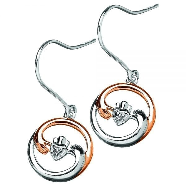 Claddagh Harmony Earrings