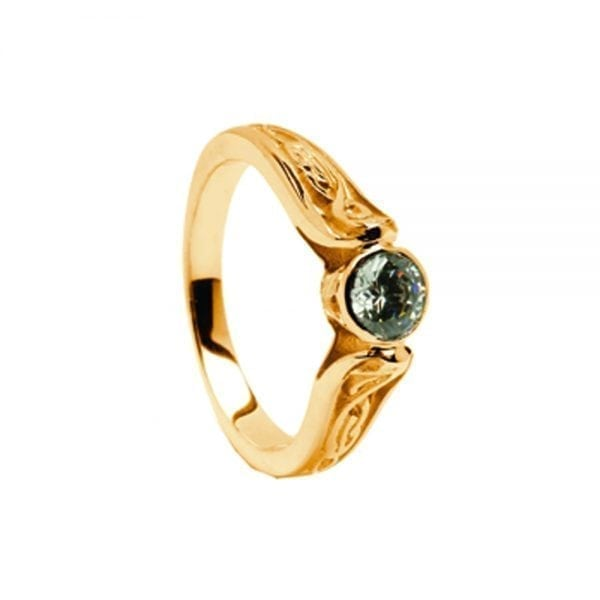 14K Gold Ring LeCheile-0.25cts Diamond