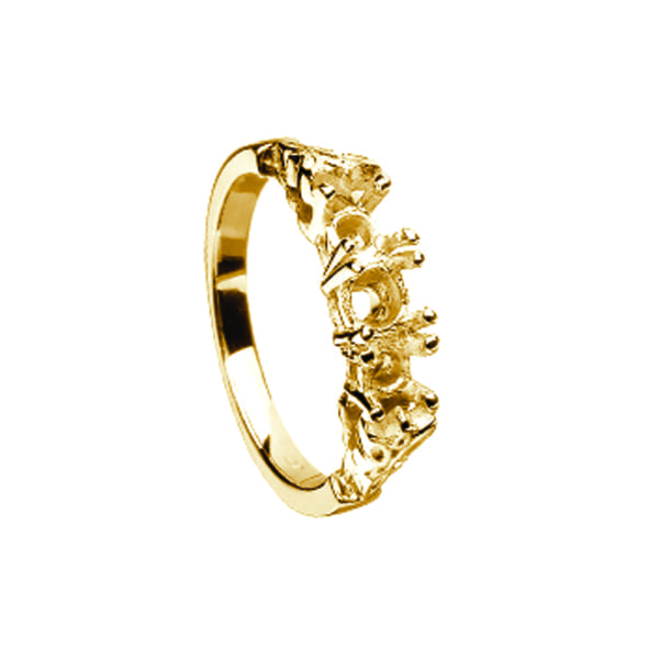 14K Gold Ring Mount Only