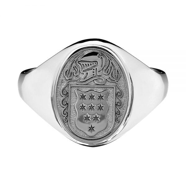 Ladies Coat of Arms Ring
