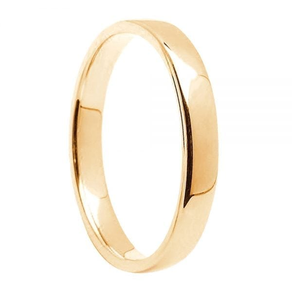 14K Yellow Gold Ring To Fit Trinity Knot