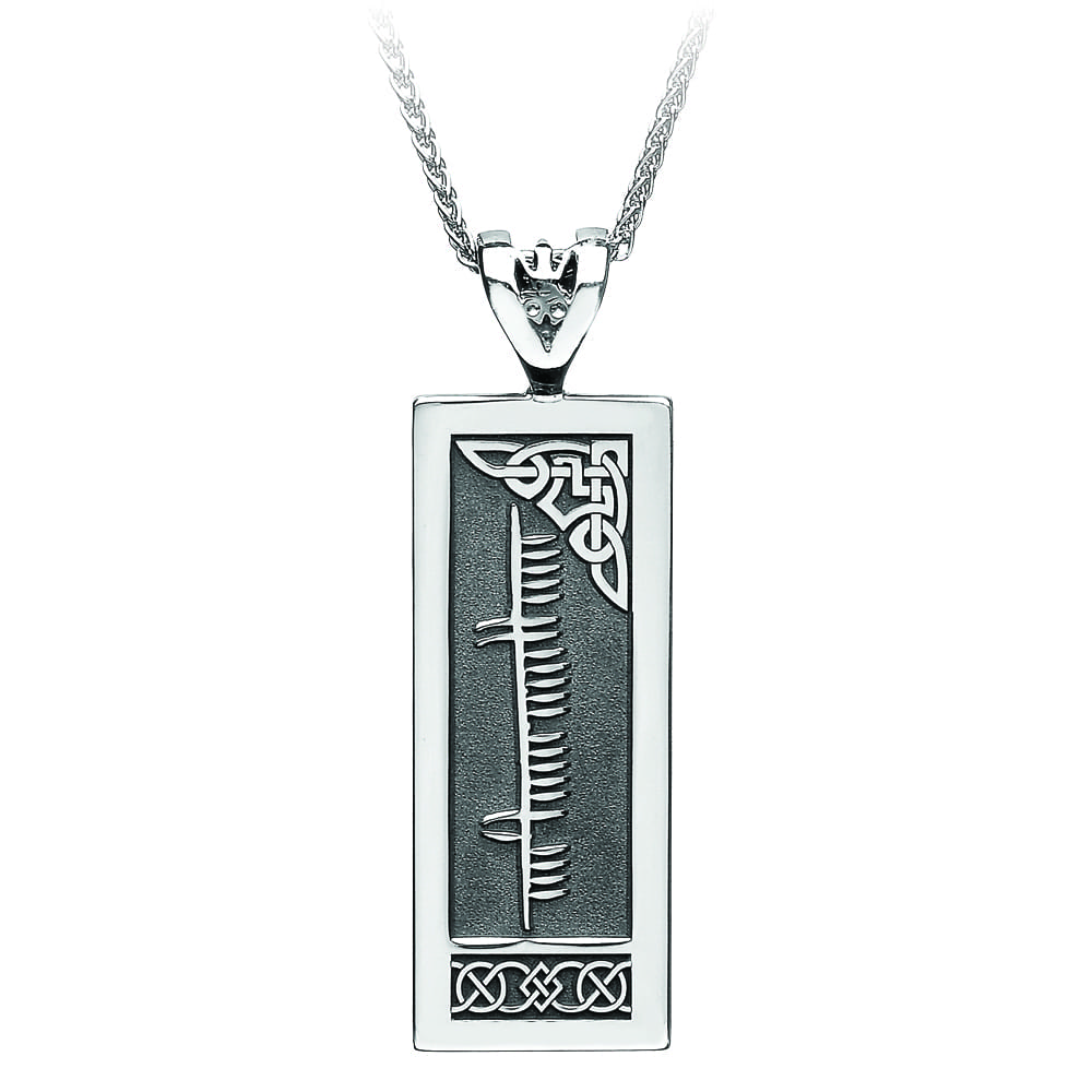 Your Name in Ogham Pendant