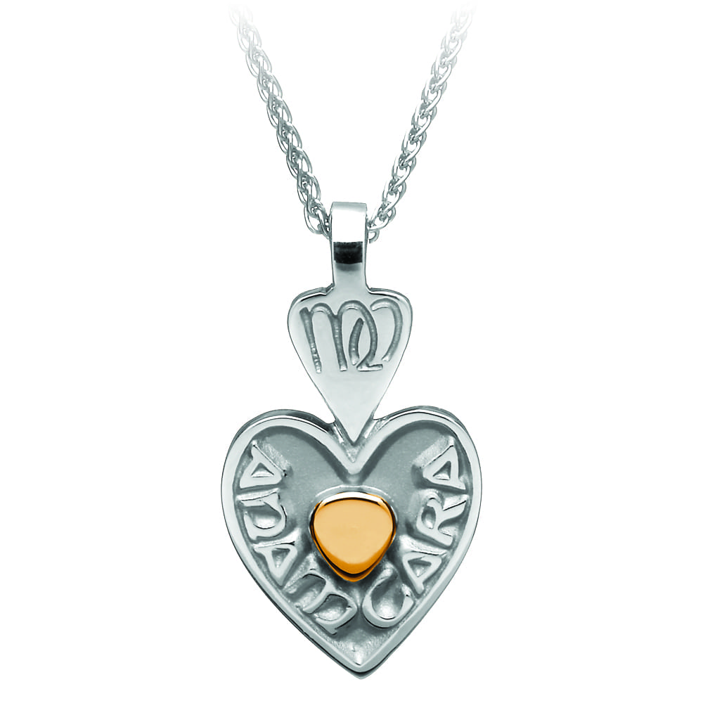 e21989fb700b7b Mo Anam Cara Pendant with 18K Gold Heart - Celtic Jewelry by Boru ®