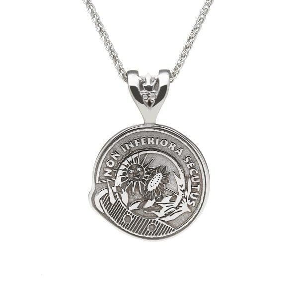 Scottish Crest Motto Pendant