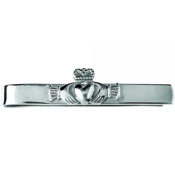 Claddagh Straight Tie Bar