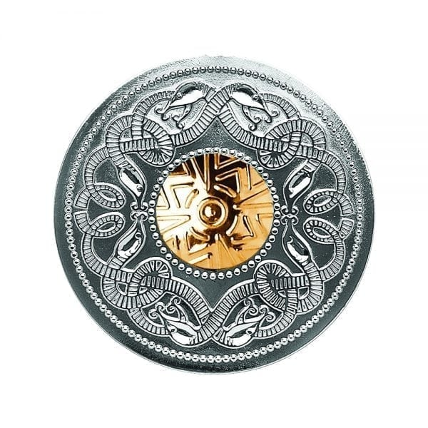Large Celtic Warrior Brooch