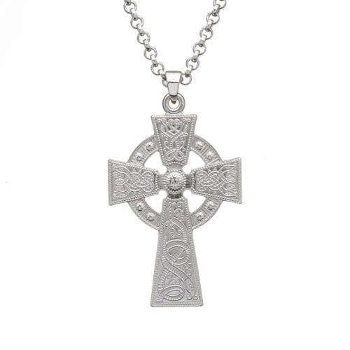 Silver Cross Celtic Warrior