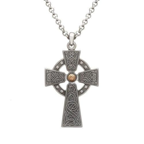 Celtic Cross Oxidised