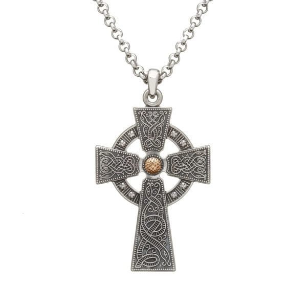 Celtic Cross Oxidised