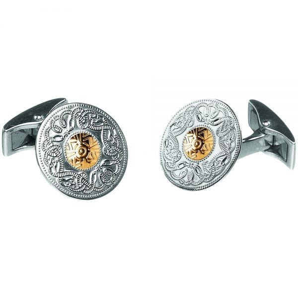 Medium Celtic Warrior Cufflinks