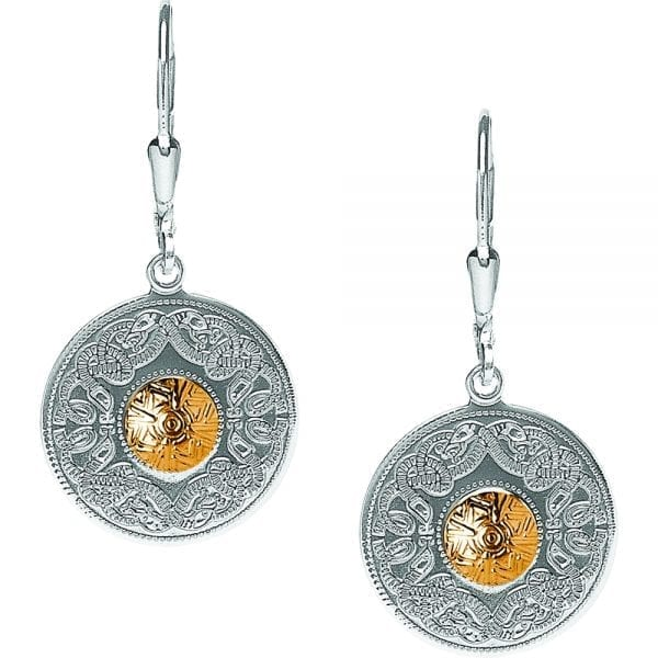 Medium Celtic Warrior Earrings