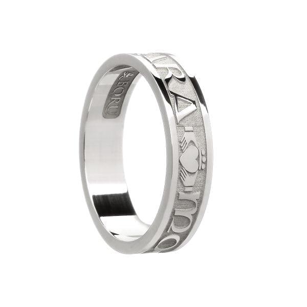 Ladies Mo Anam Cara Soul Mate Wedding Ring