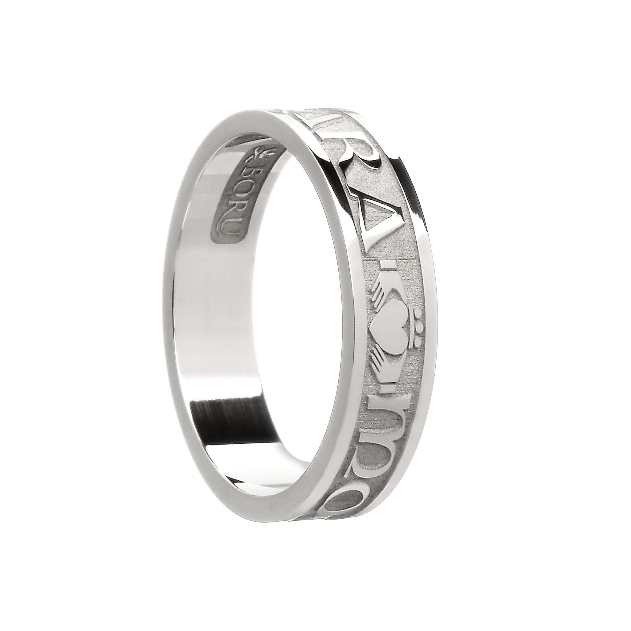 Ladies Mo Anam Cara Soul Mate Wedding Ring Celtic Jewelry By Boru