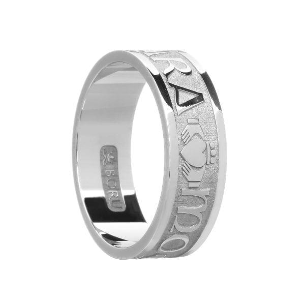 Gents Mo Anam Cara Soul Mate Wedding Ring