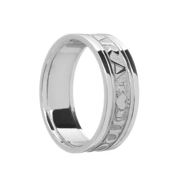 Ladies Mo Anam Cara Soul Mate Ring with Trim