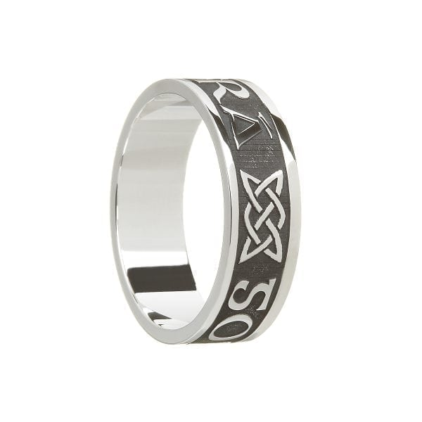 Gents Gra Go Deo – Love Forever Wedding Ring