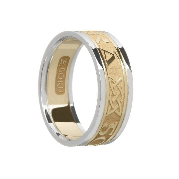 Ladies Gra Go Deo – Love Forever Wedding Ring with Trims