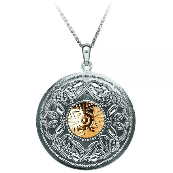 Large Celtic Warrior Necklace