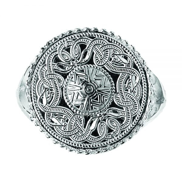 Celtic Warrior Signet Ring