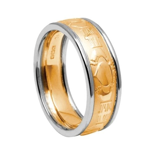 Gold Court Claddagh Ring