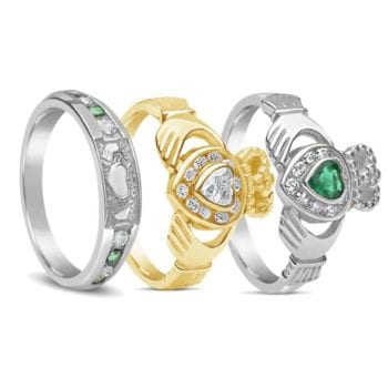 How To Wear A Claddagh Ring - Celtic Jewelry
