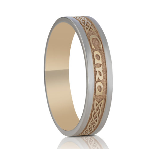 5mm Mo Anam Cara Wedding Ring